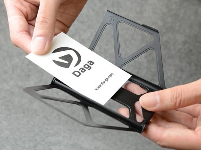 CERA-BLACK Titanium + CLIP Cardcase - 画像4
