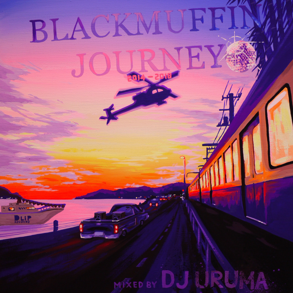[MIX CD] DJ URUMA / Blackmuffin Journey (2014-2018)