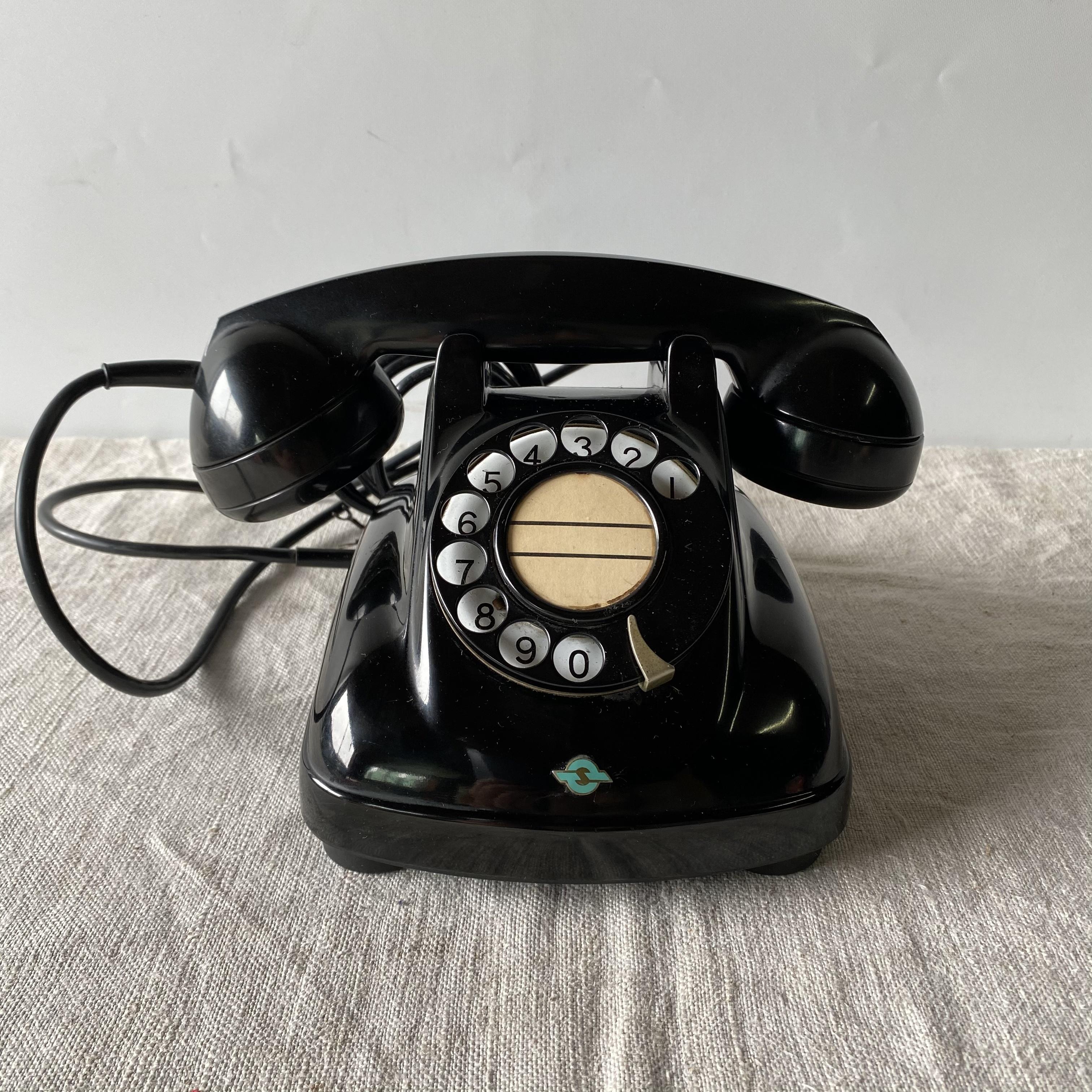 黒電話 4号機 1970年 ヴィンテージ 美品