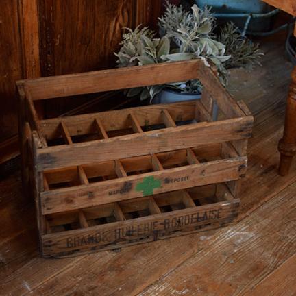 フランス ボトルラック木箱