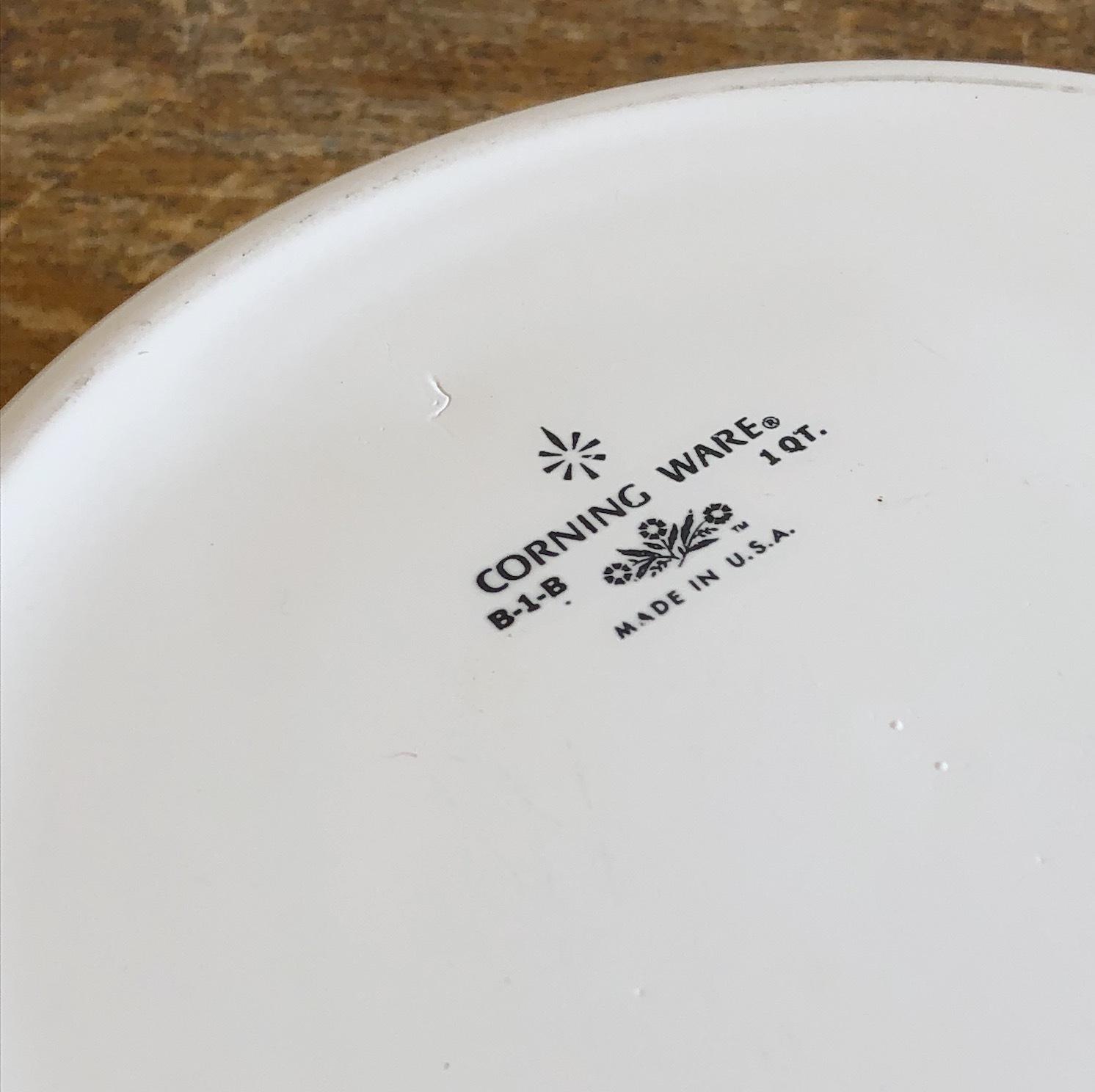 CORNING WARE 無地両手鍋