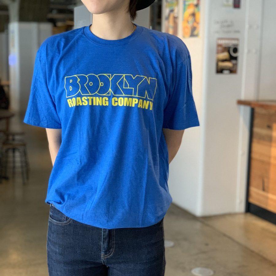 Original T-shirt (Blue × Yellow Logo)