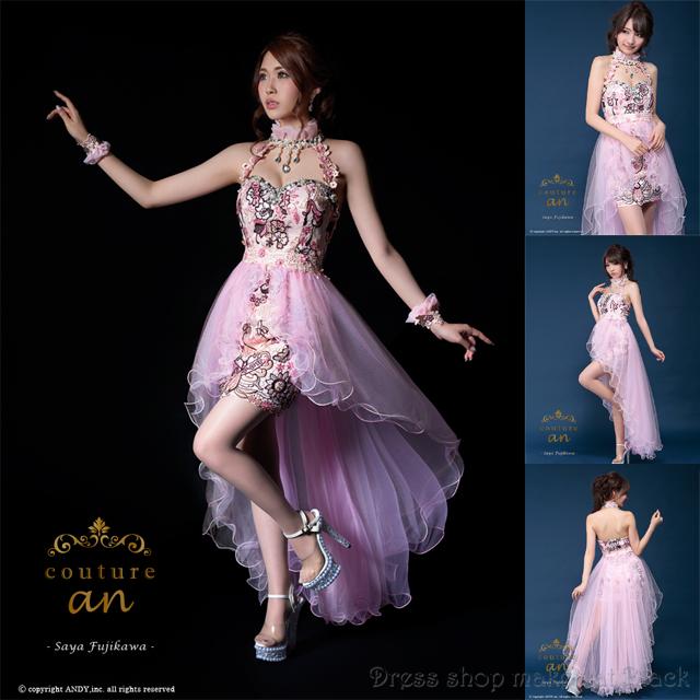 人気の為再入荷 (Sサイズ) 神戸コレクション出演ドレス ミニドレス ¥51.840- (税込) キャバドレス パーティー ドレス AOC-2050