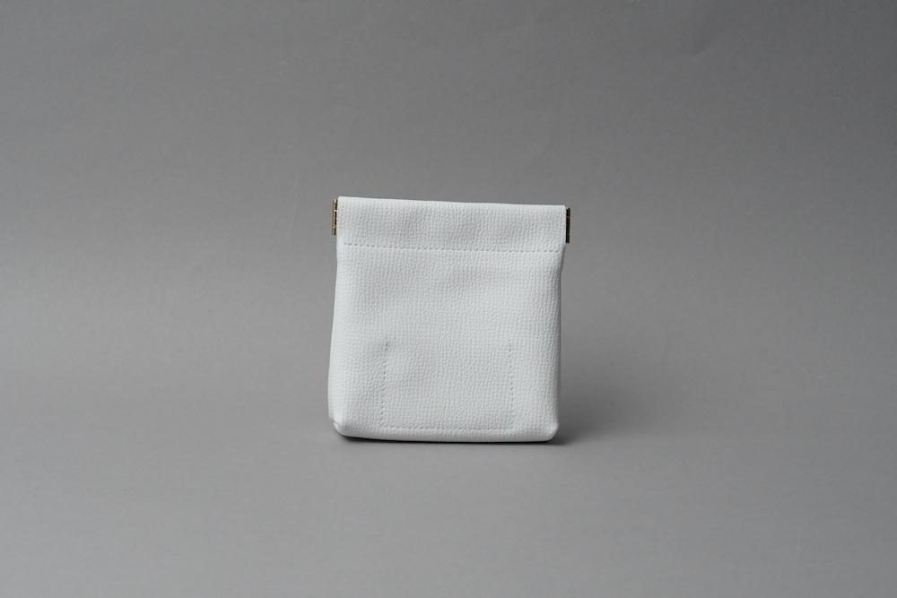 ワンタッチ・コインケース ■ホワイト・ラベンダー■ - 画像2