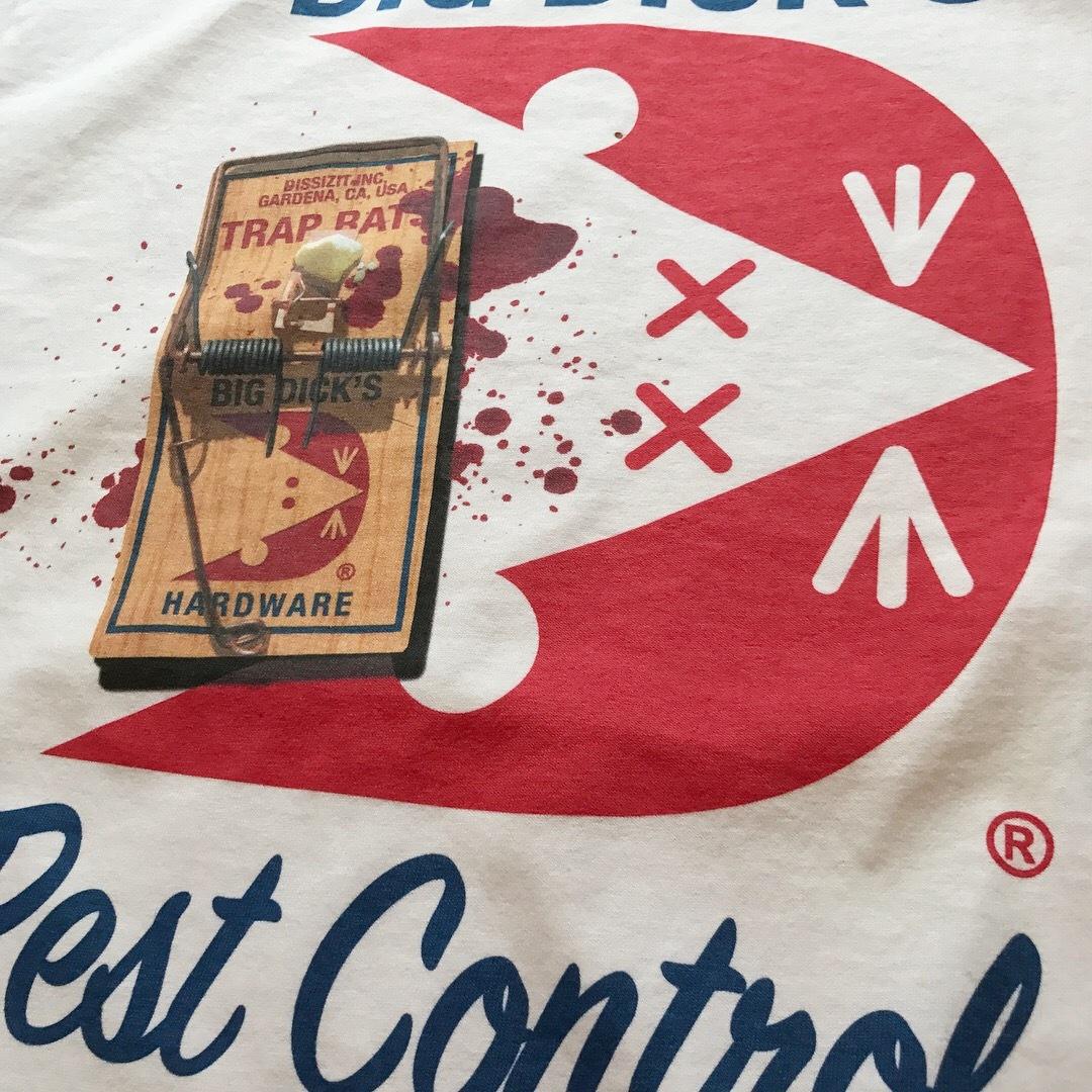BIG DICK'S HARDWARE / Past Control Tee - White