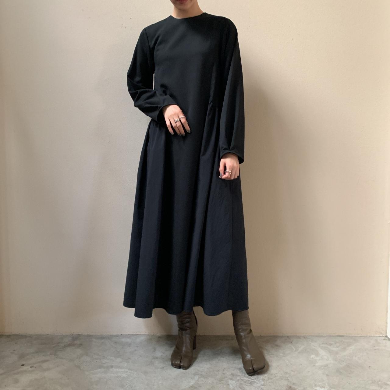 ELIN - L/S combi flare dress