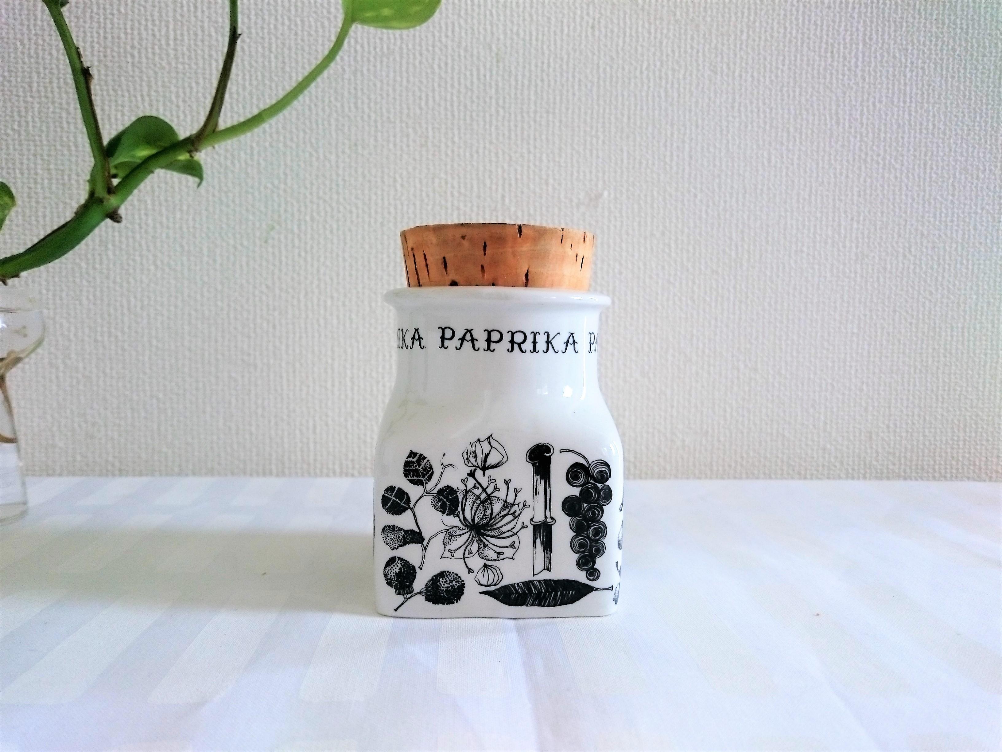スパイスジャー / アラビアヴィンテージ / PAPRIKA パプリカ