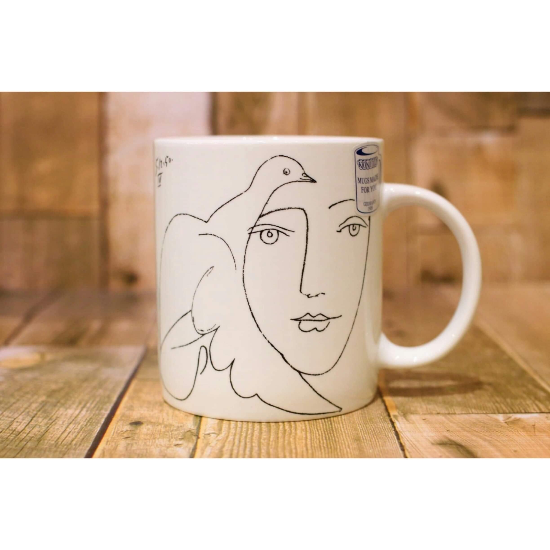Picasso Corrida フェイス  【artマグカップ】   浜松雑貨屋C0pernicus