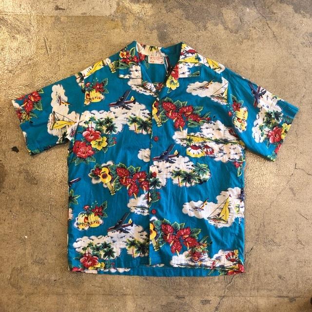 Vintage Set Up Aloha Shirts ¥4,800+tax