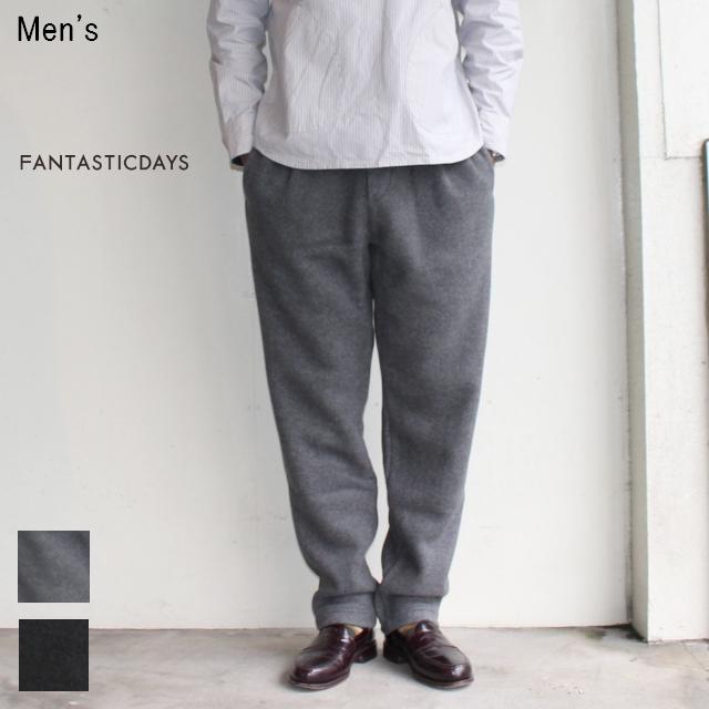 FANTASTICDAYS  フリースイージーパンツ FLEECE-M-63-01 (GRAY) 【Men's】