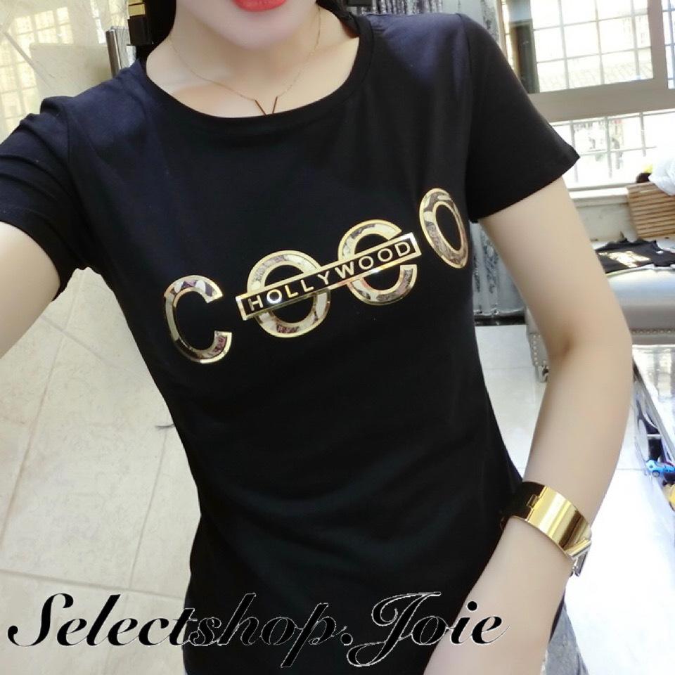 【White Sサイズ即発送】COCOロゴTシャツ 2色展開