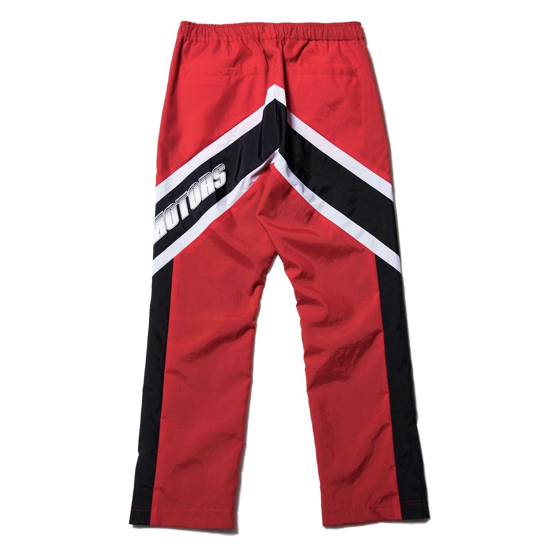 MYNE MOTORS nylon pants / RED - 画像2