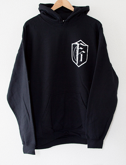 【FIT FOR A KING】American Metalcore Hoodie (Black)