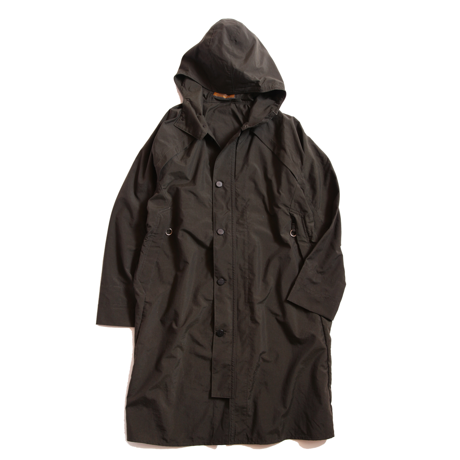 Postalco/Four Vent Long Rain Jacket/Mountain Green