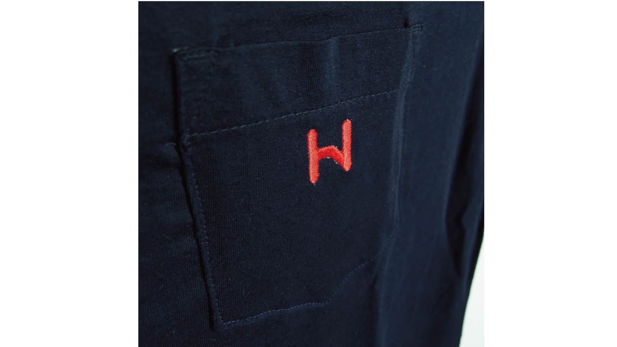 HNN ロゴTee 2.0 [Navy×Red] - 画像3