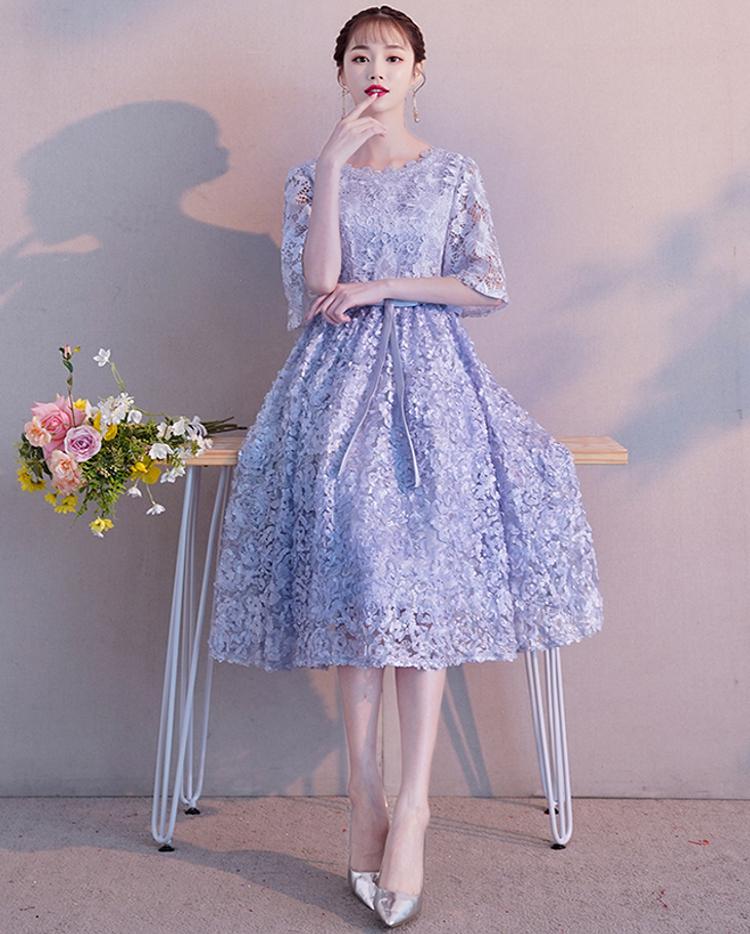 65de59d6a9323 送料無料 ☆ 3カラー ロマンチック 花柄刺繍 フラワー エレガント チュール ドレス 大きいサイズ 膝