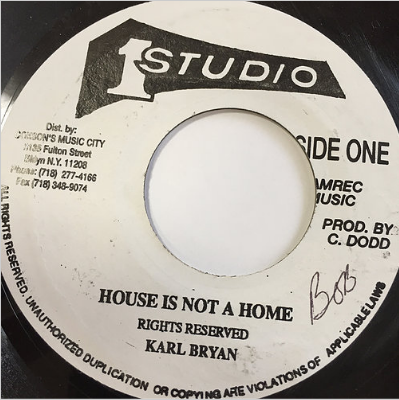 Karl Bryan(カールブライヤン) - House Is Not A Home【7-20145】