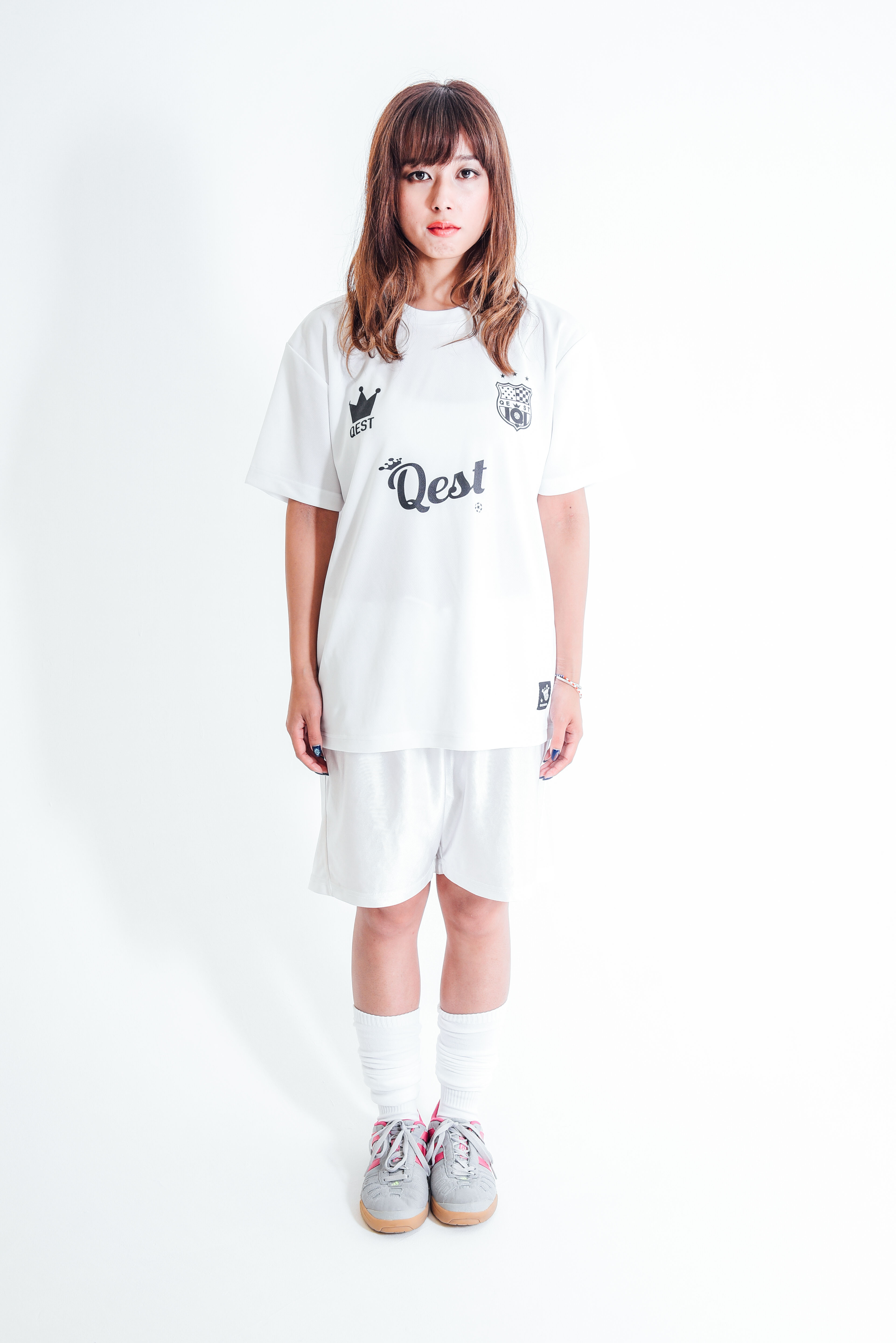 Qest Crown Practice Shirt / White - 画像4