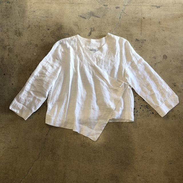 Wrap Linen Blouse #TP-334