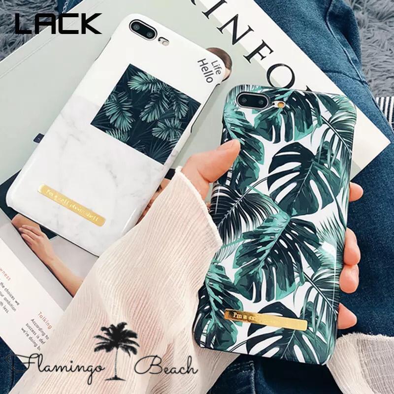 【FlamingoBeach】leaf iPhoneケース
