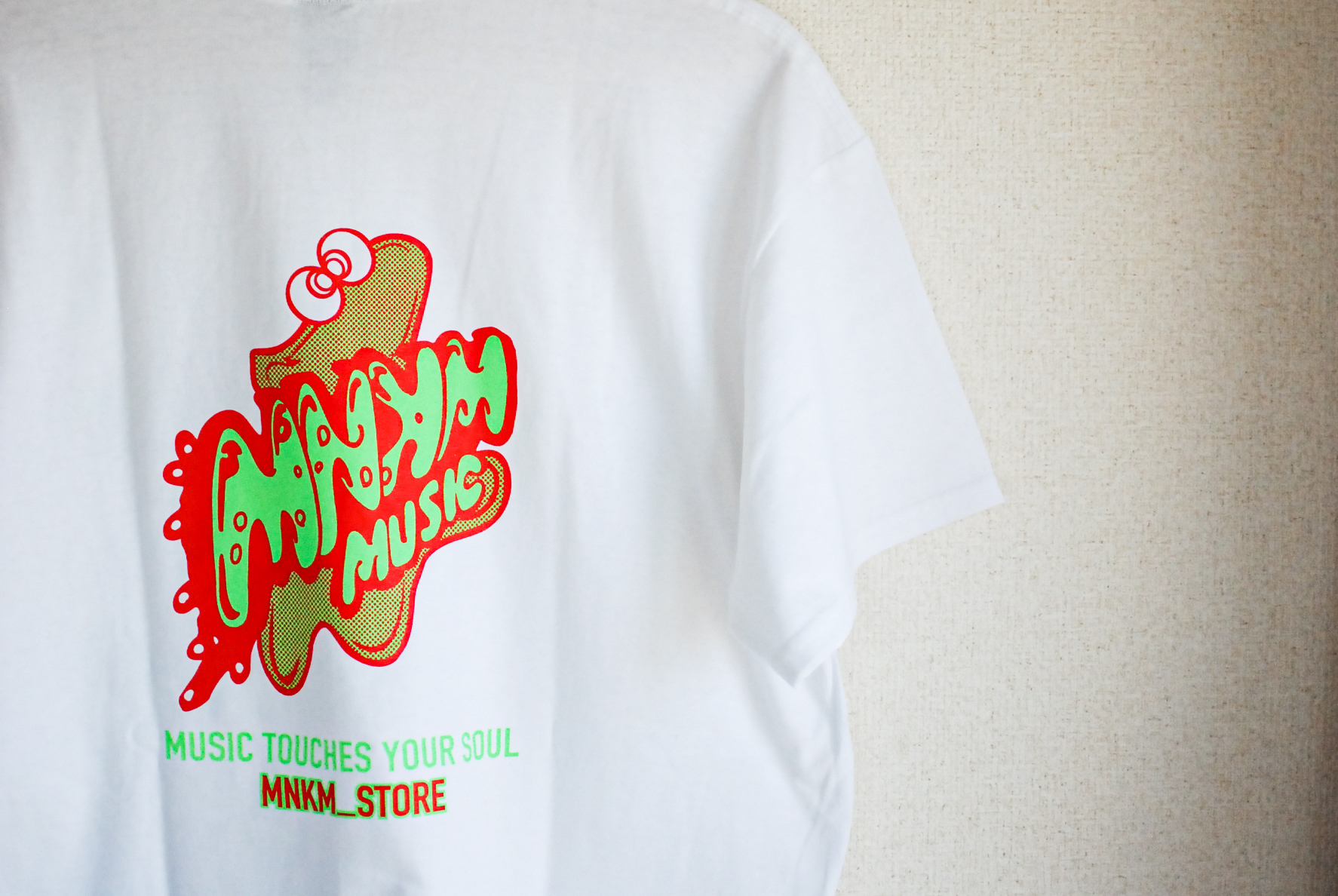 【BIG SIZE】MNKM Music Shop Tee