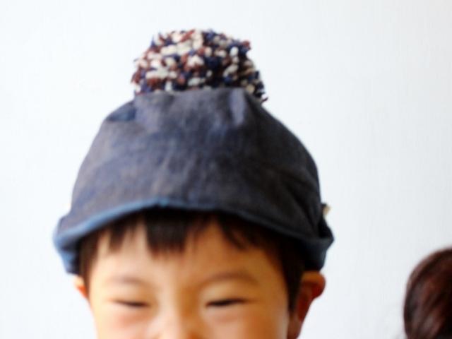 KODOMOBOUSHI NAKAWATA DENIM 47-50cm(1-3歳)