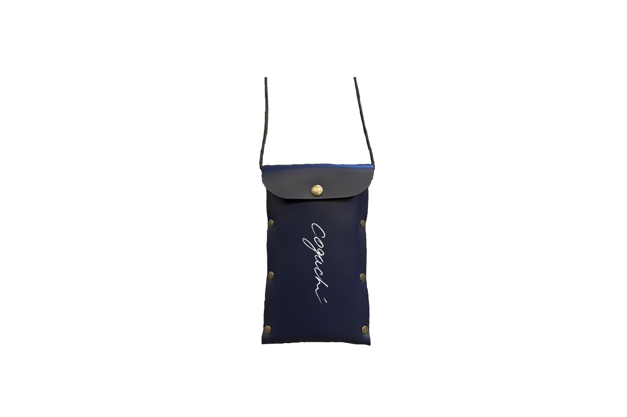 coguchi leather logo mini bag (NVY)数量限定