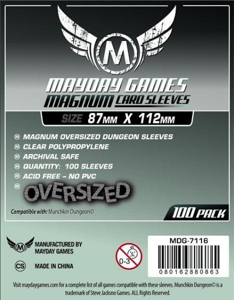 (87x112mm)Mayday カードスリーブ MDG-7116