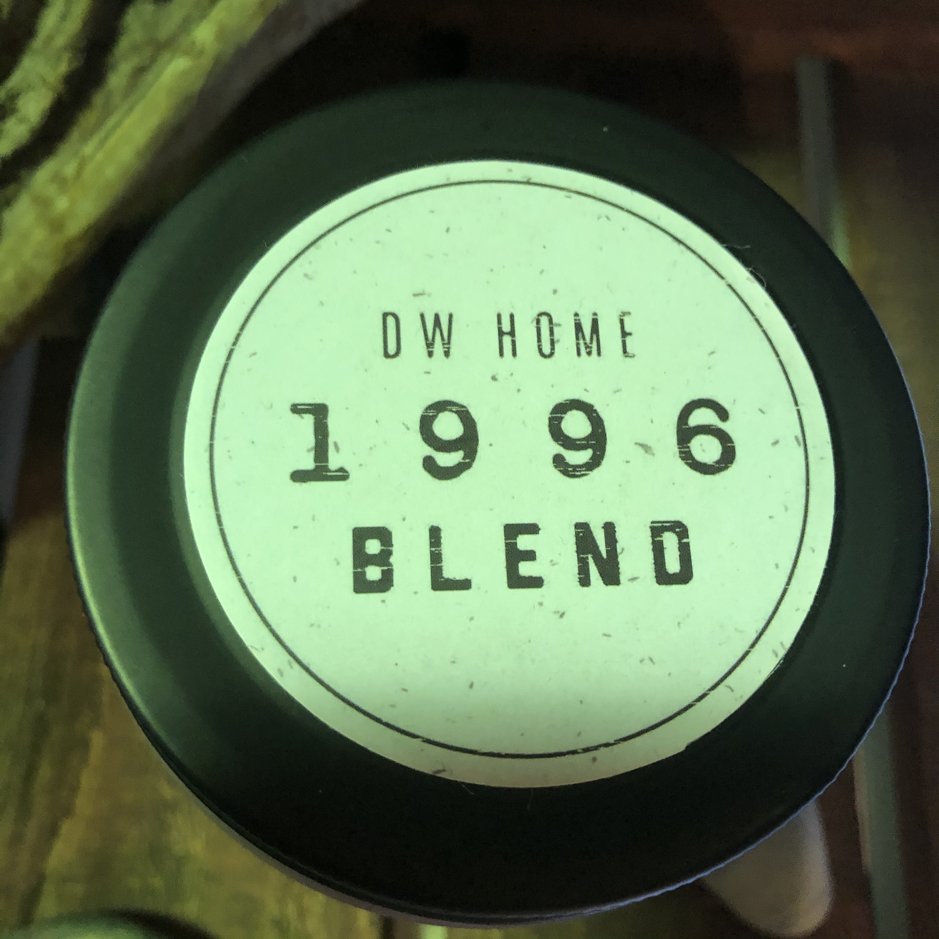 DW Home Candles 1996 BLEND 【AMBER ROSEWOOD BLEND】スパイシーなローズウッドのアロマキャンドル