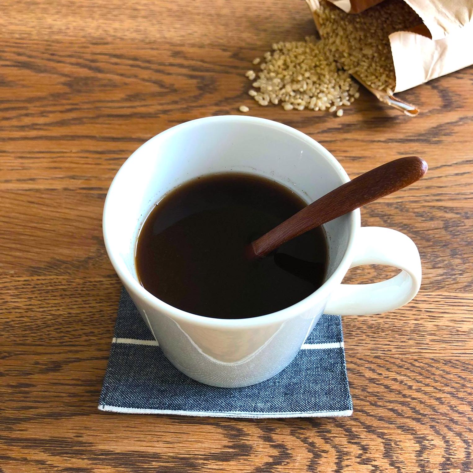 {無糖}コシヒカリ玄米コーヒー  COSHI-BROWN 5g
