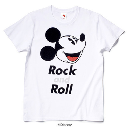 FACE MICKEY (WHITE) / rockin' star