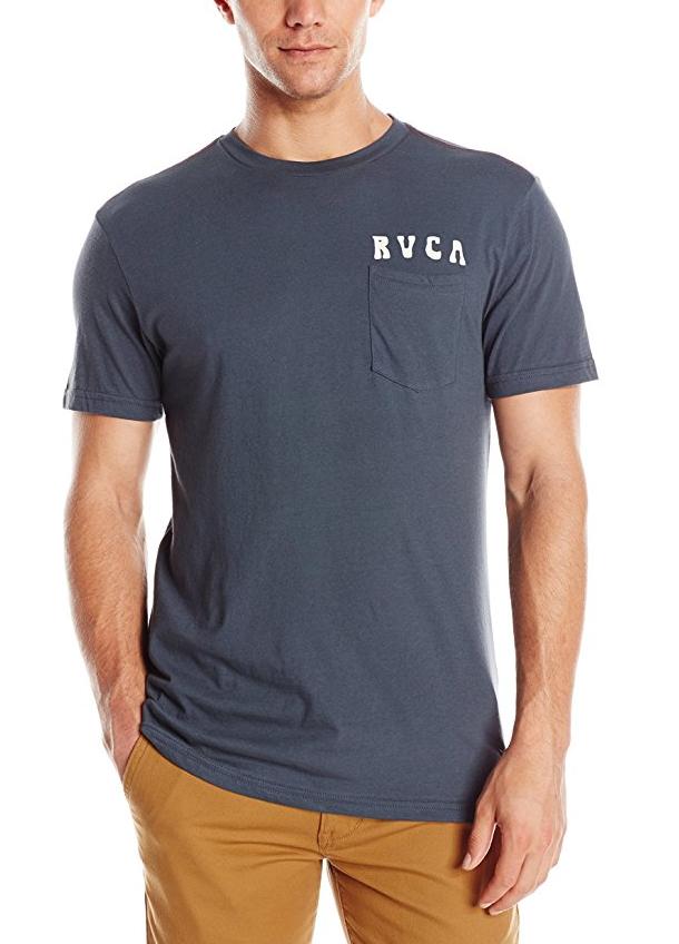 RVCA Men's Alsweiler Flower Pocket Tシャツ