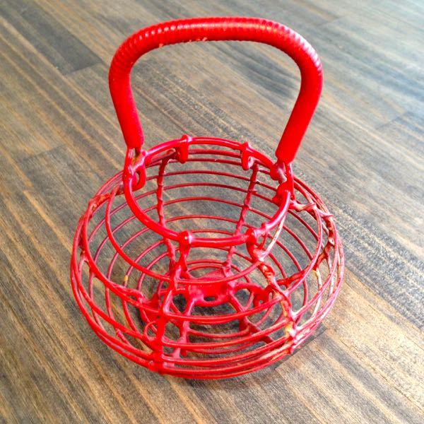 French Vintage Little Basket