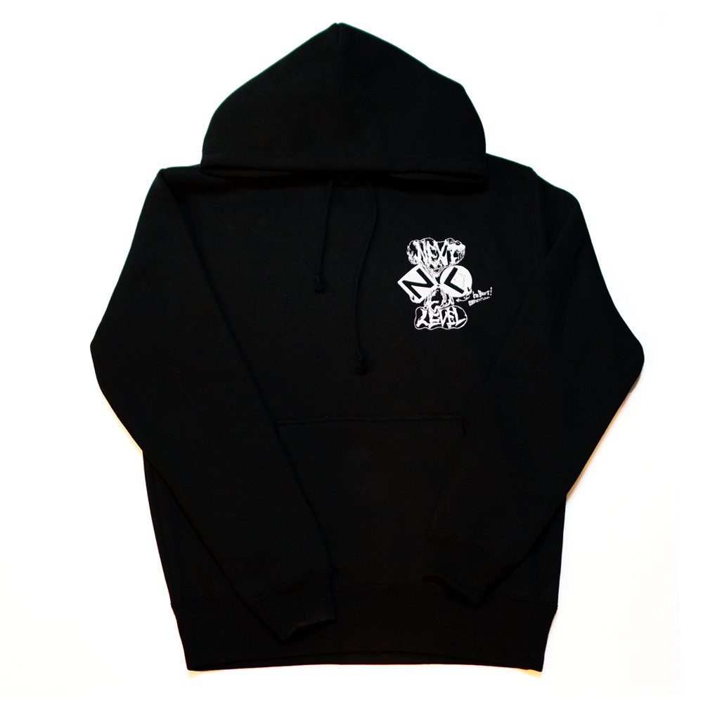 NEXT LEVEL HOODIE (BLACK)