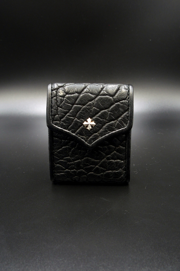 Item No.0150 :Small rich coin case1/American bison BK EC-S
