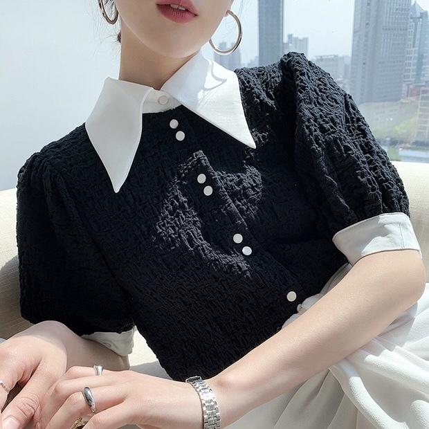 big collar shirt