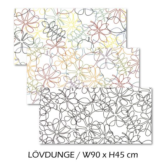 北欧生地 ファブリックパネル 横90 cm x 縦45 cm Kinnamark LOVDUNGE 受注販売商品 (100924)