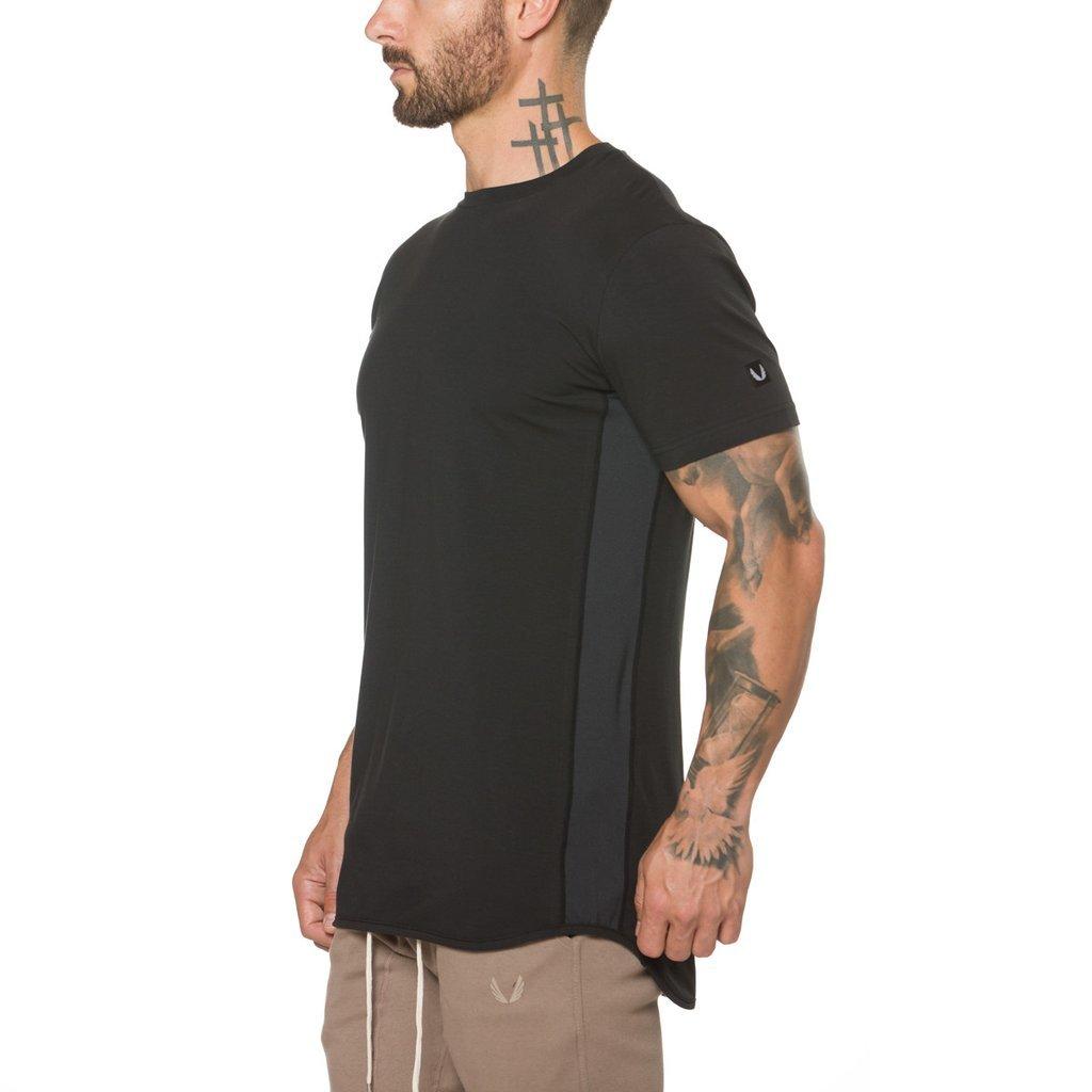 完売御礼【ASRV】Supima® Vented Tシャツ - Black