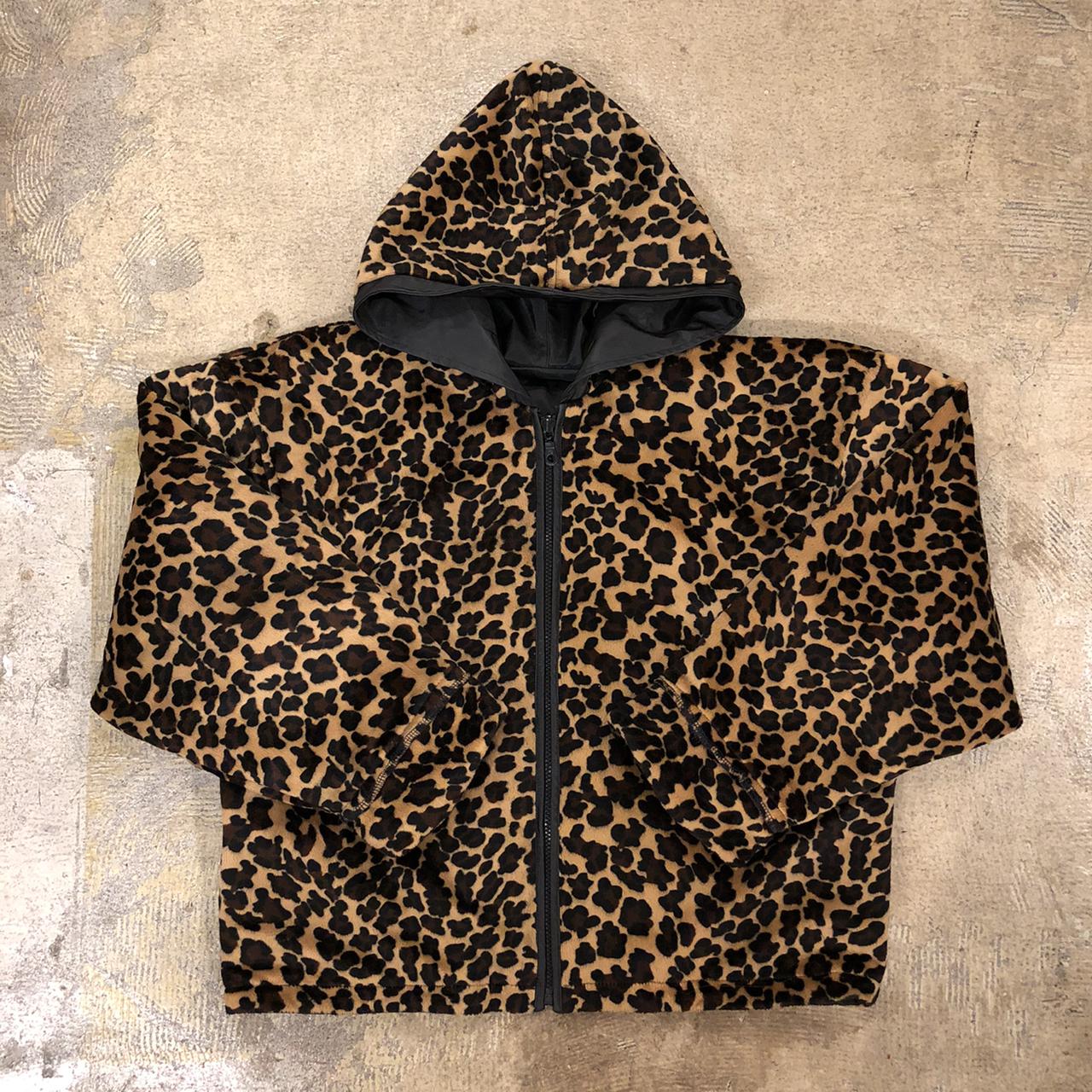 Kctec Leopard Reversible Hoodie Jacket ¥16,800+tax