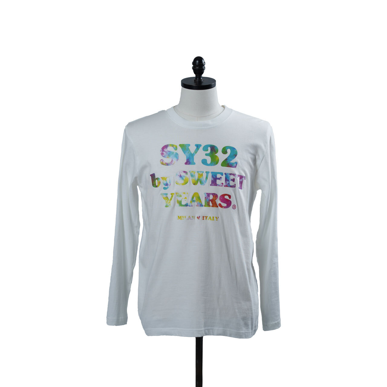 SY32 TIE DYE GRAPHIC L/S TEE (9126T)
