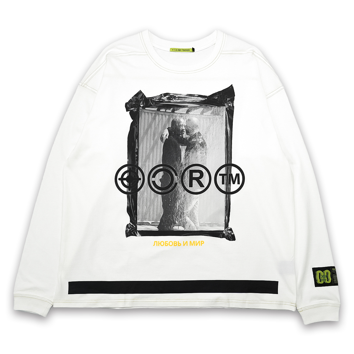 T.C.R L&P PACKAGE L/S TEE - WHITE