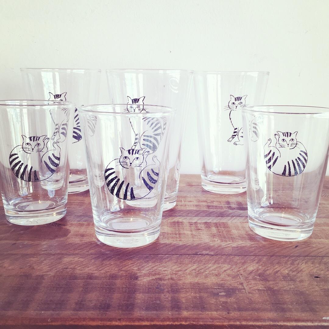 松尾ミユキ cat glass   sale
