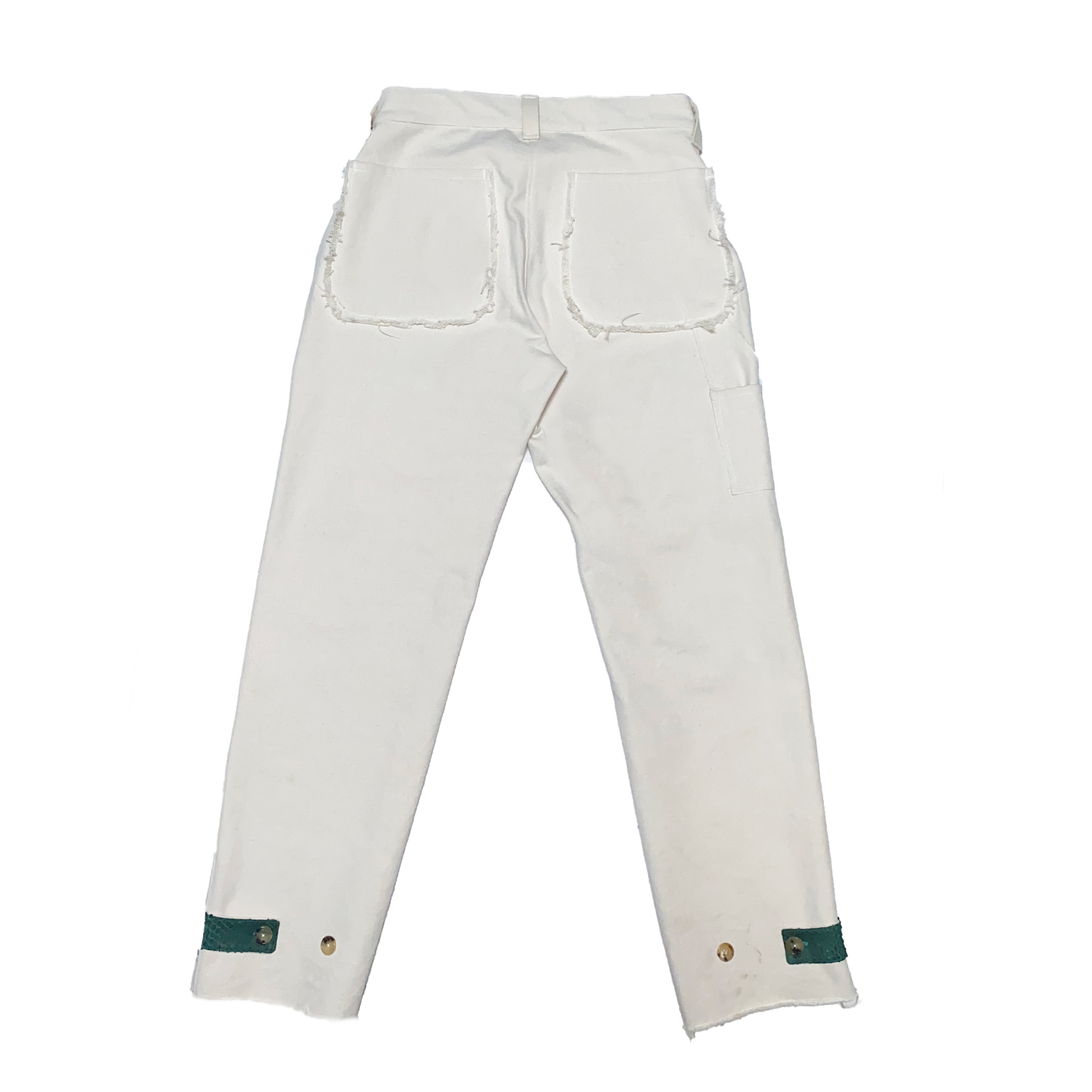 Carpenter Pants / White - 画像2