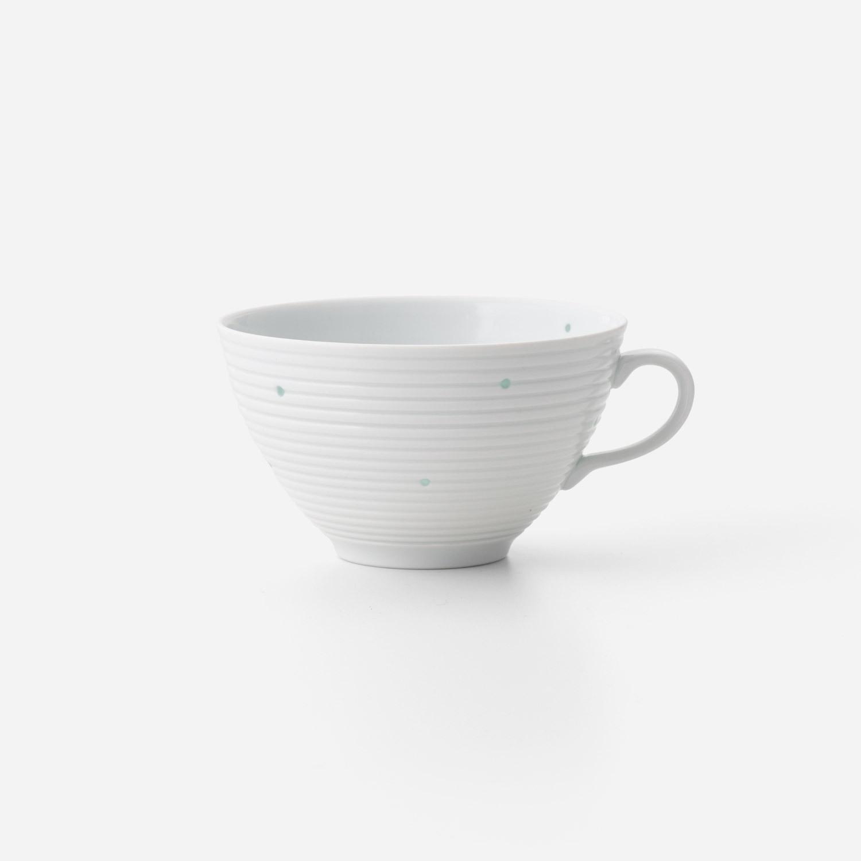 水玉 スープカップ