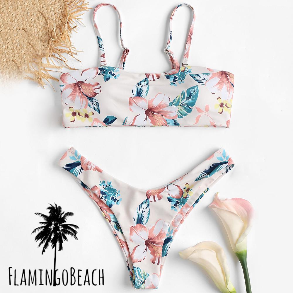 【FlamingoBeach】hibiscus bikini ビキニ