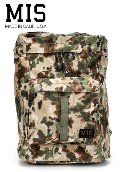 MIS (エムアイエス) BACKPACK (バックパック) Covert Woodland