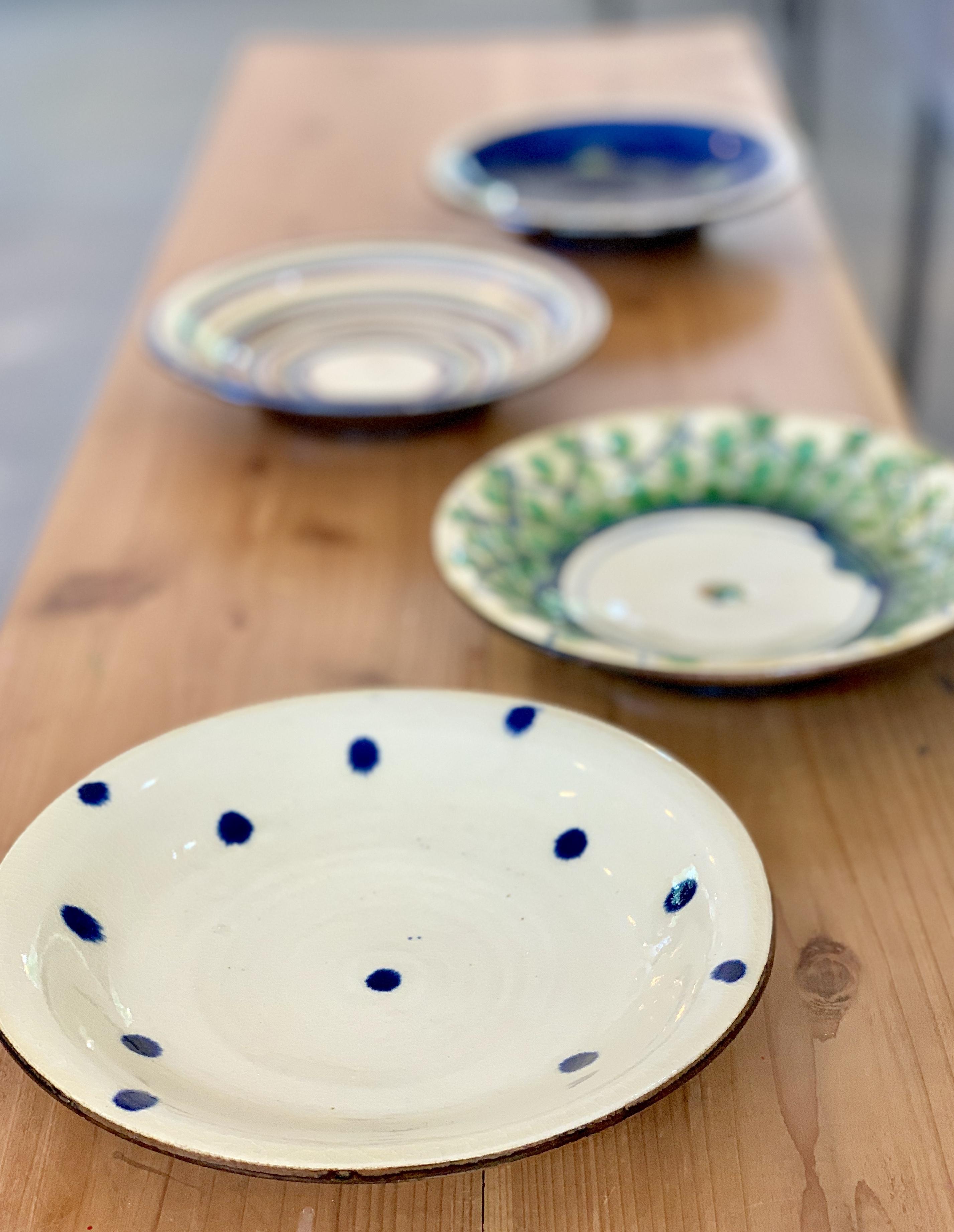 7寸皿 福田陶器