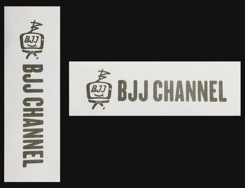 送料無料!!! BJJ チャンネルパッチ 縦長&横長セット価格