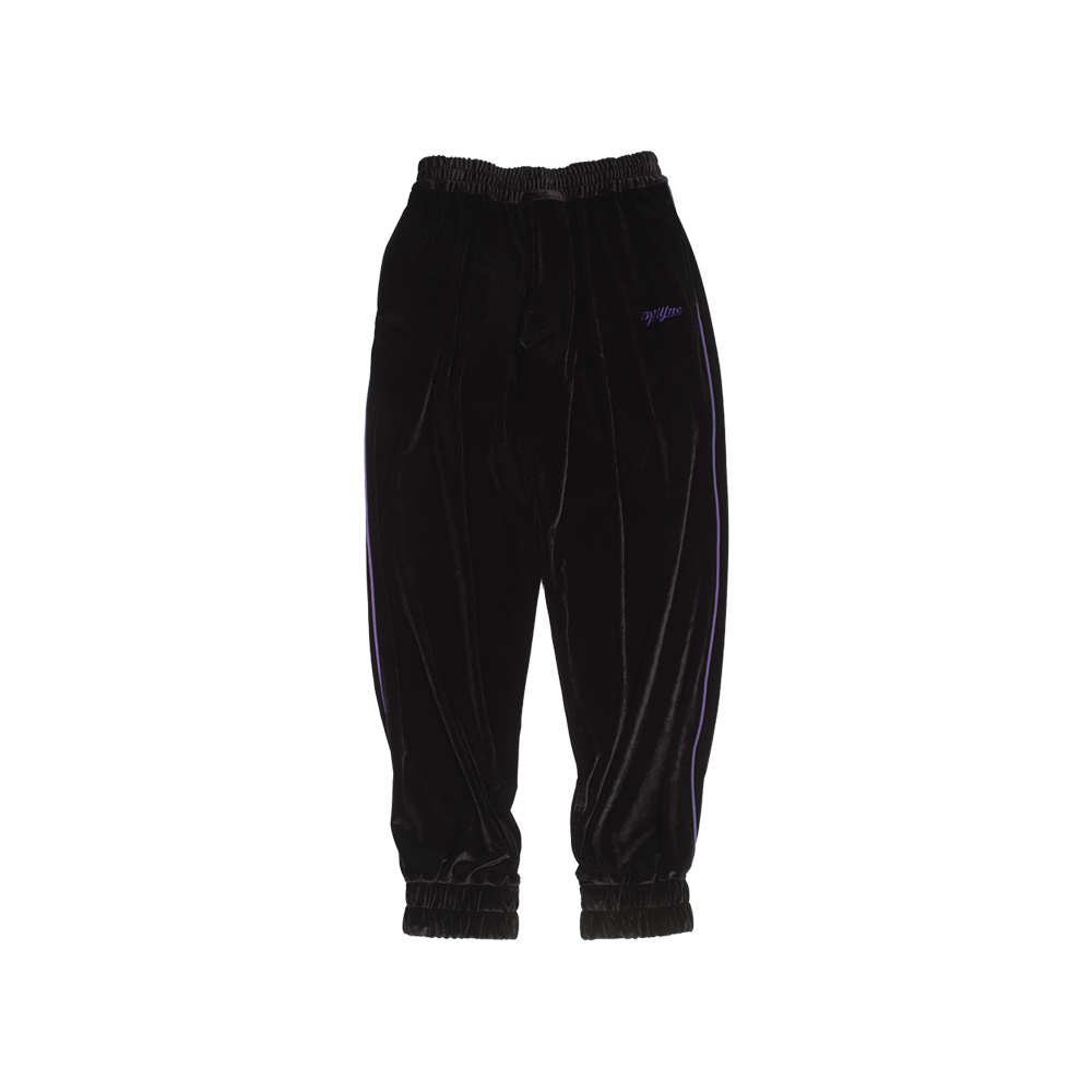VELOUR PANTS / BLACK - 画像1