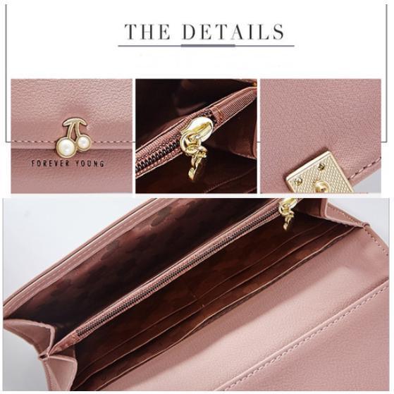 d822917dfdd5 さくらんぼモチーフが可愛い♡レディース長財布♡大容量ウォレット ピンク. ピンク のお財布:風水では  ピンクは突然運気が上がり、他人の力でお金が入るカラーだそう ...